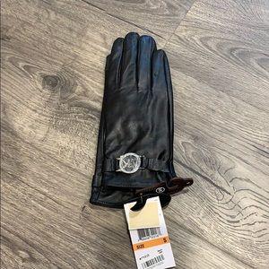 Leather Michael Kors gloves